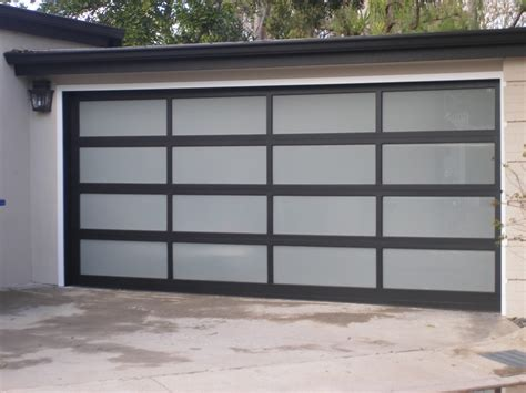 Garage Door Panel Prices Garage Glass Garage Door Design Plexiglass Garage Doors Contemporary Glass Garage Door