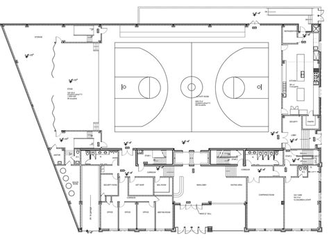 recreation center floor plans decoration ideas our community center design for