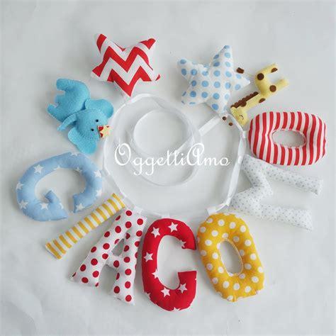 decorazioni per lettere giacomo una decorazione di lettere in stoffa per decorare