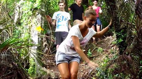 girls hiking   forest  raglan  youtube