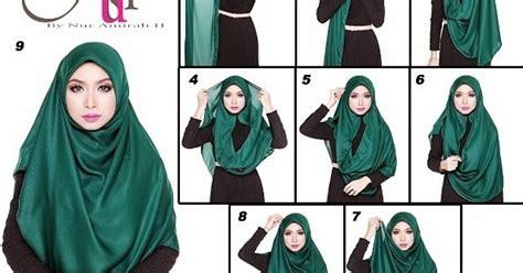 tutorial shawl unik cara memakai tudung bawal labuh cara pakai tudung bawal