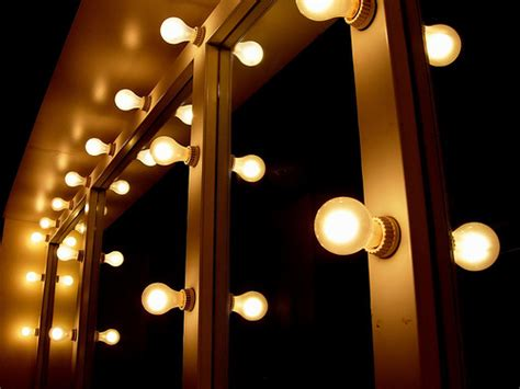 dressing room light bulbs bands dirty