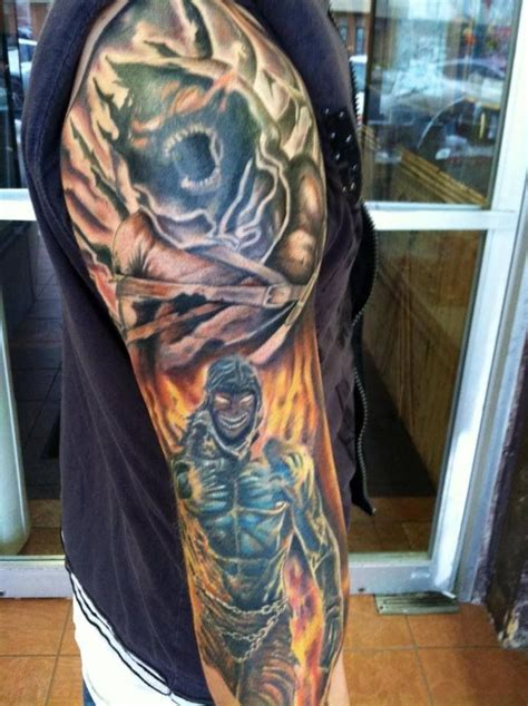 disturbed tattoos it s a quot disturbed quot fuckin hell yeah for