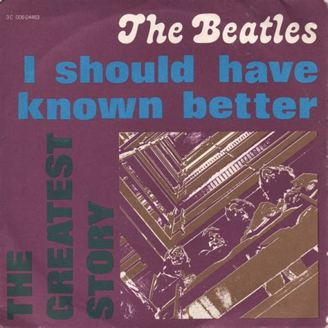 i should known better classic