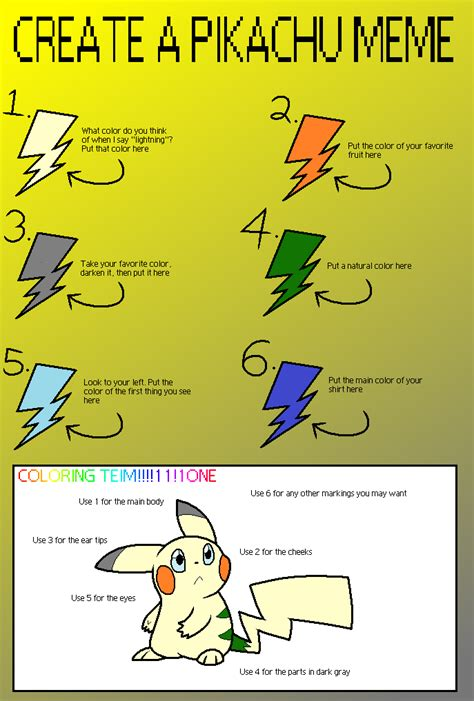How To Make Own Meme - meme make your own pikachu by superstar hero on deviantart