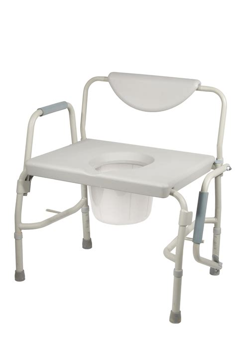 bed side commode bariatric drop arm bedside commode