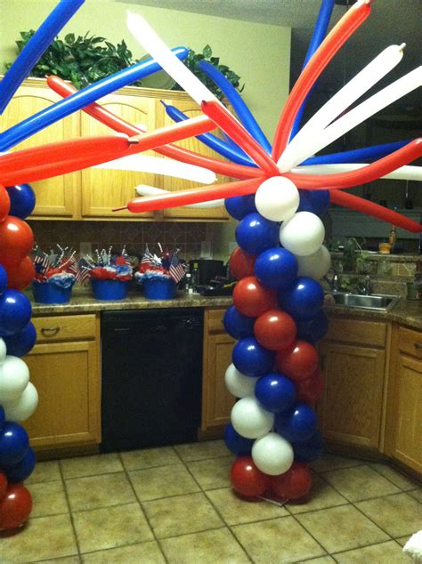 4th Of July Balloon Decorations by 4th Of July Balloon Decorations