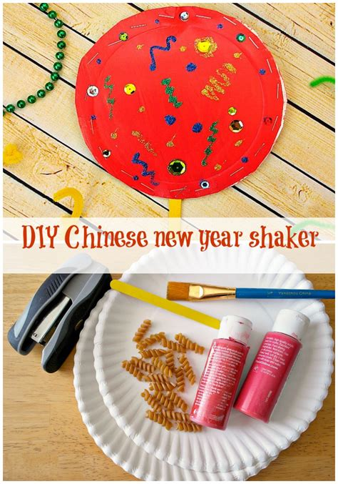 year craft new year shaker in the playroom
