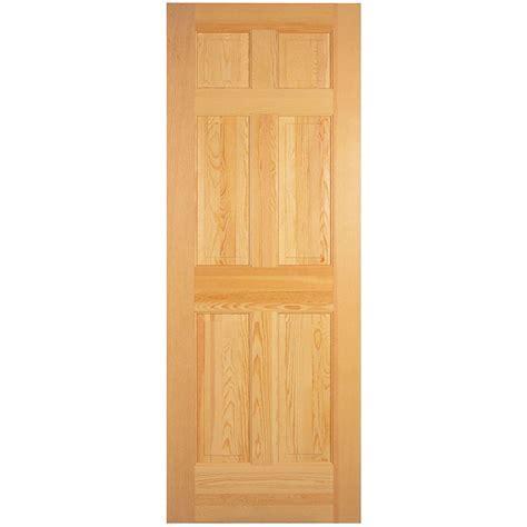 Masonite Interior Doors Canada Masonite 32 Inch X 80 Inch 6 Panel Clear Pine Door The Home Depot Canada
