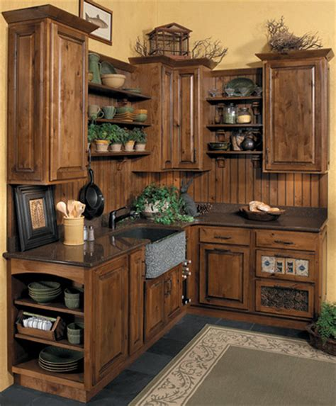Rustic Kitchen Furniture Rustic Kitchen Cabinets Starmark Cabinetry Rustic