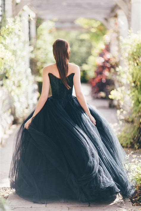 bridal noir 26 breathtaking black wedding dresses