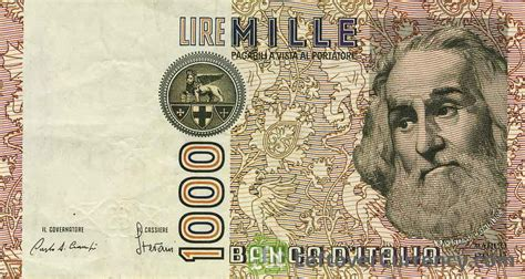 lire mille d italia italian lira currency search results million gallery