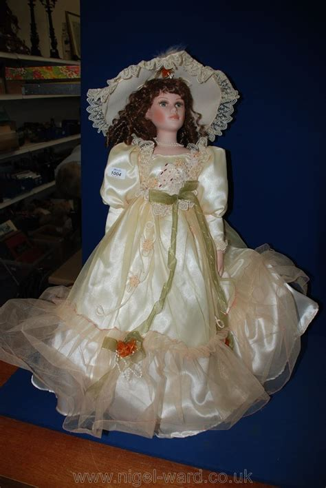 porcelain doll knightsbridge collection a knightsbridge collection porcelain doll named alexandra