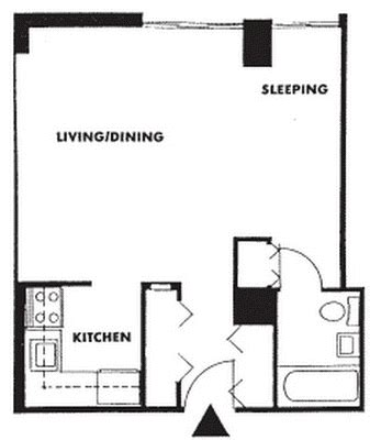 efficiency floor plans 28 awesome efficiency apartment floor plans home