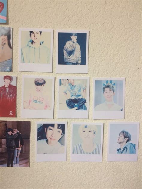 Chanwoo Ikon Polaroid diy bts polaroids army s amino