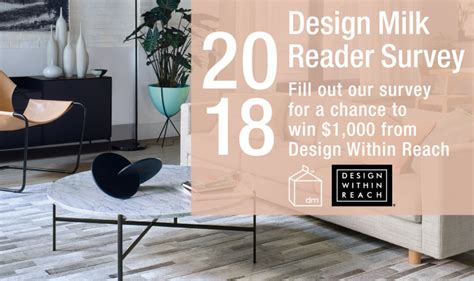 Win Gift Cards For Surveys - reminder 2018 reader survey enter to win 1 000 gift card from dwr interior4you