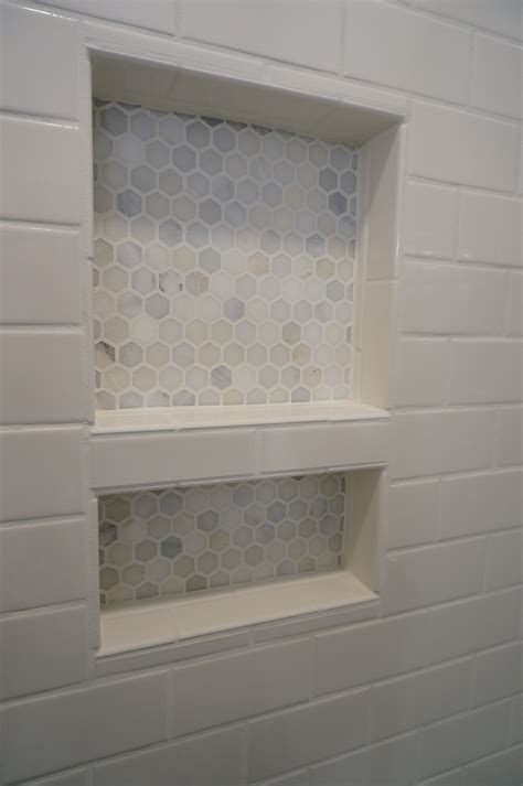 Tile Shower Niche shower niche tiled shower renovation bathroom storage
