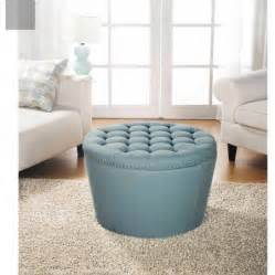 how to make a round ottoman with storage better homes and gardens round tufted storage ottoman with