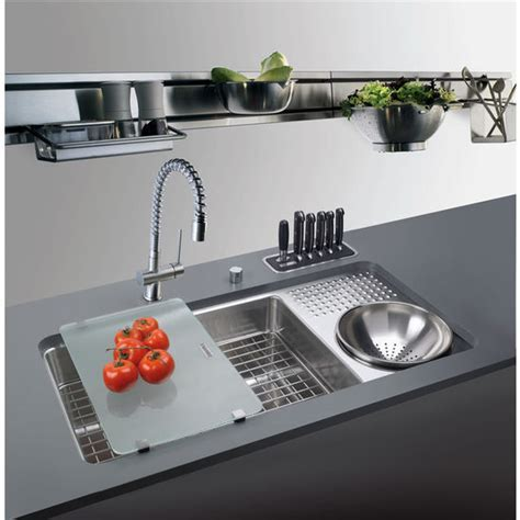 Franke Culinary Work Station Sink, Stainless Steel   Free