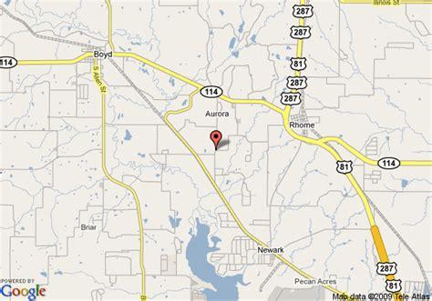 rhome texas map map of md resort rhome