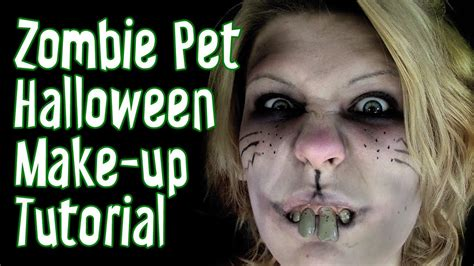 zombie tutorial youtube zombie hamster costume tutorial spookseason2013 youtube