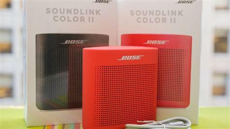 bose soundlink color review bose soundlink color ii review cnet