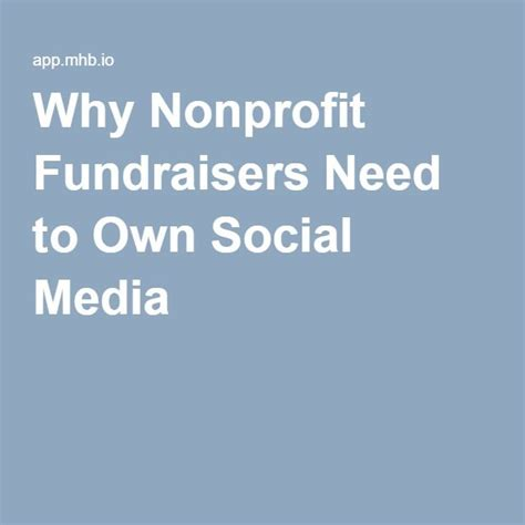 Why Nonprofits Need Mba S by 319 Best Nonprofit Fundraising And Donor Relations Images