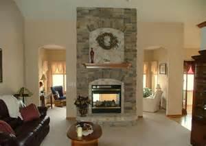 see through fireplace craft