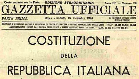 testo della costituzione italiana costituzione italiana cose da libri