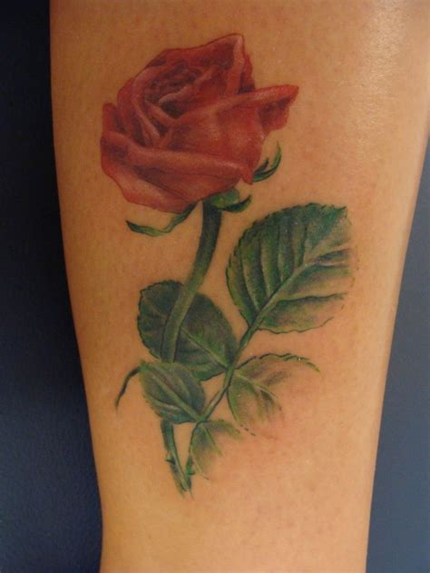 rose leaves tattoo flower designs by rosemary pickett