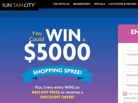 Enter To Win A 5000 Glamcom Shopping Spree by Sun City Summer 2016 Sweepstakes