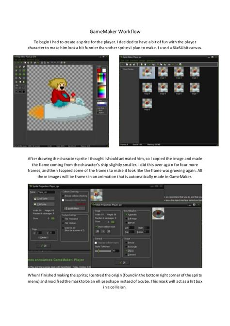 workflow maker gamemaker workflow