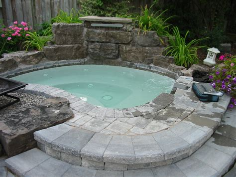 in ground bathtub very small backyard with hot tub joy studio design gallery best design