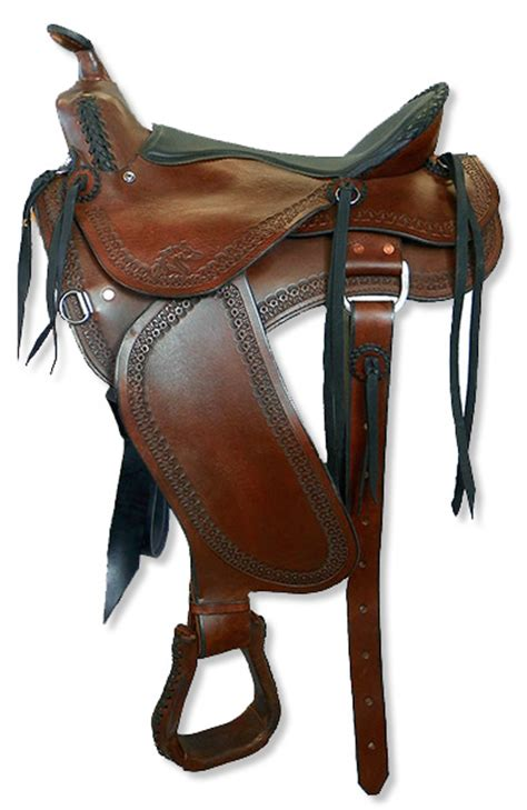 most comfortable trail saddle western trail saddles custom fit to horse rider synergist