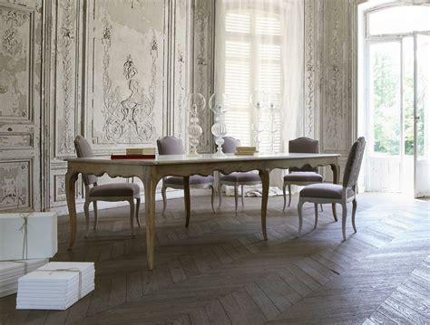roche bobois tavoli tavolo allungabile in rovere louis collezione