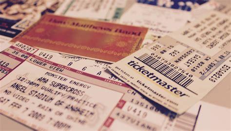 ticket stub love