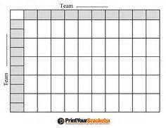 football square board template 100 bowl squares football pool with halftime line
