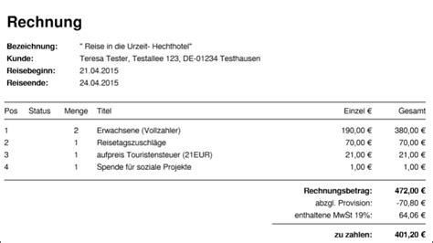 Rechnung Kleinunternehmen Ohne Mwst Travelseller Buchungsverwaltung Buchungen Details Texte Travelseller Wiki