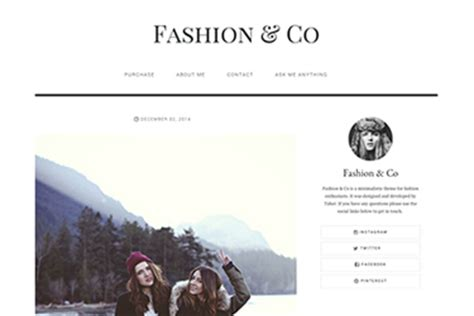 themes for tumblr fashion popular premium themes tumblr