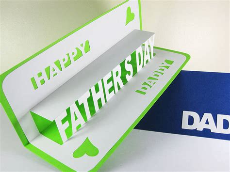 Http Www 1dogwoof Fathers Day Pop Card Free Silhouette Templates by Personalised Pop Up Happy S Day Card By Ruth