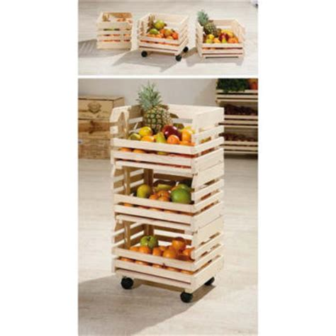 Fruit And Veg Rack by Interlink Minya Small Fruit And Vegetable Storage Rack