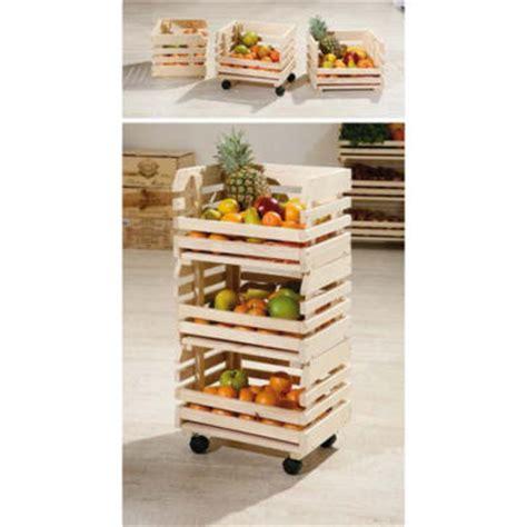 Fruit Rack by Interlink Minya Small Fruit And Vegetable Storage Rack