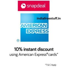 American Express Gift Card Recharge - american express cards 10 cashback upto rs 1500 on rs 5000 snapdeal