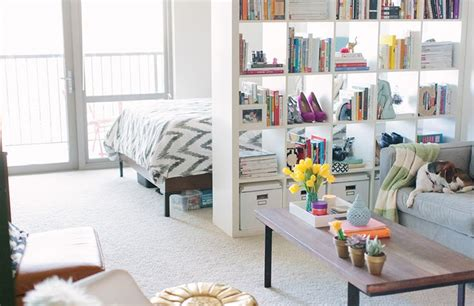 small space room divider ideas cait weingartner s chicago studio tour small space