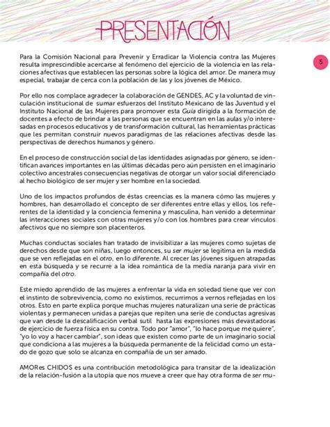 Distribuye Sep En Escuelas La Gua Bsica Con Nuevas | amores chidos gu 237 a para docentes sensibilizaci 243 n