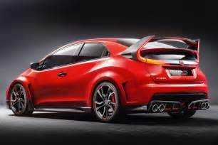 2015 Honda Type R Honda Civic Type R 2015 Rear
