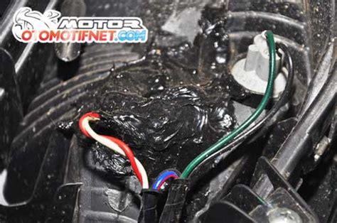 Saklar Mio Sporty agar tilan motor lebih keren ganti saja lu senja