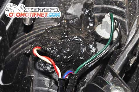 Lu Led Motor Mio M3 agar tilan motor lebih keren ganti saja lu senja