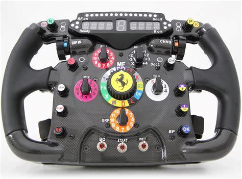 volante f1 explicando o volante de um f1 gearheadbanger