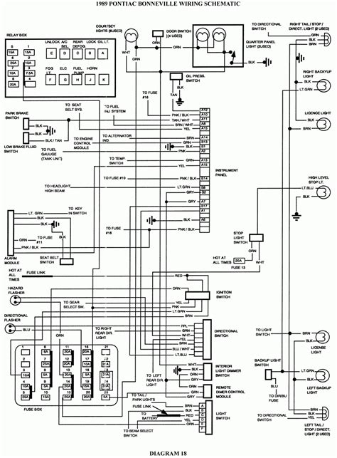 wiring diagram for a 2000 grand prix wiring diagrams